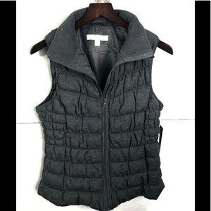 New York & Company Puffer Vest SZ M